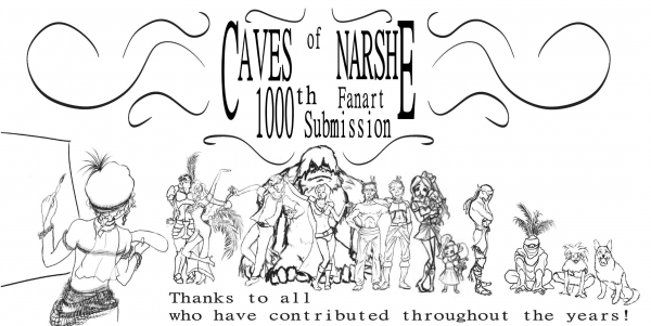 Caves of Narshe 1000th Fanart Commemoration by finalalias