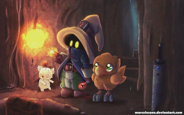 In Search of the Dark Treasure by marcelosanz