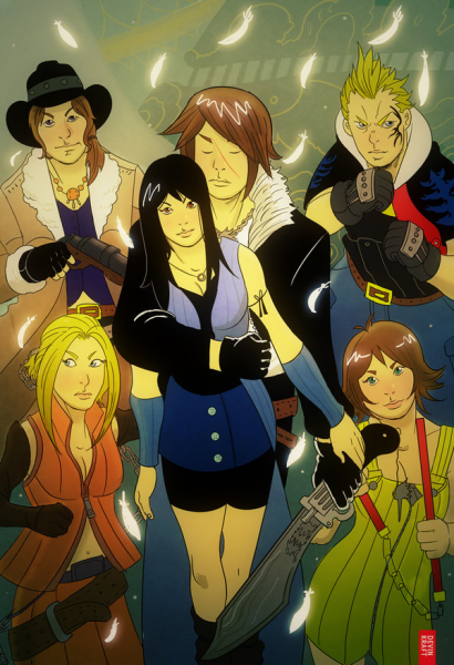 Final Fantasy VIII by cheshirecatart