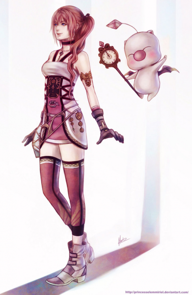 Time Traverler, KUPO! by PrincessElemmiriel