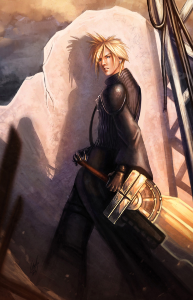 Cloud Strife by Lithana