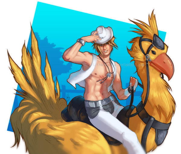 Chocobo Rider by Lithana