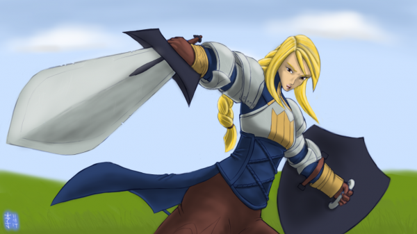 Agrias by ElPanachino
