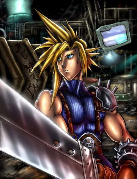 Cloud Strife (Midgar Sector 5 Slums) by SoulStryder210