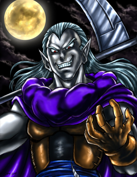 Dark Lord Magus by SoulStryder210
