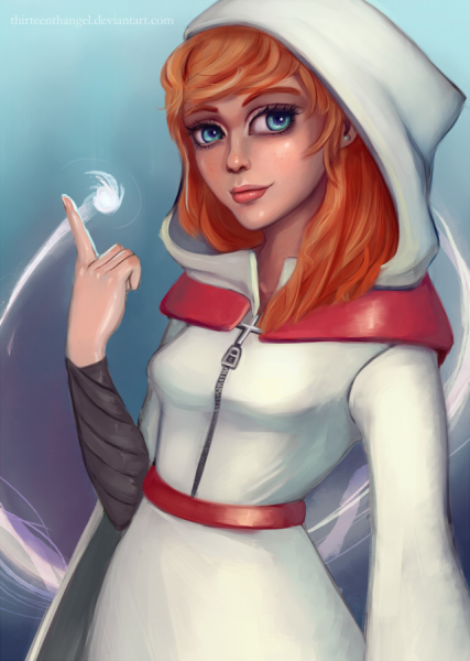White Mage by thirteenthangel