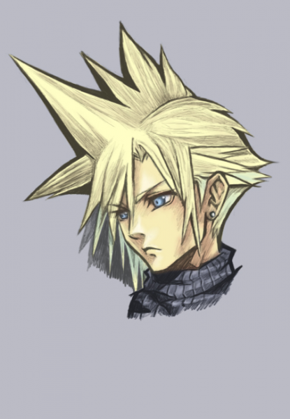 Cloud Strife by BrokenCH