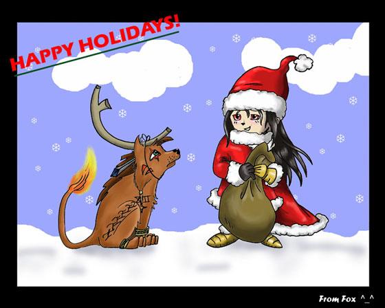 Happy Holidays! by Fox