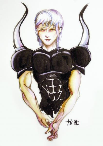 Lunarian Dark Knight by Kame