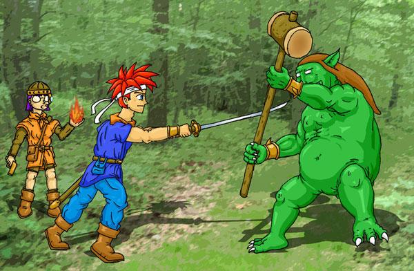 Ogan Battle by DeathbyChiasmus