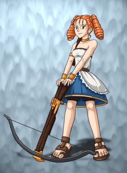 Marle: Disgaea Archer by DeathbyChiasmus