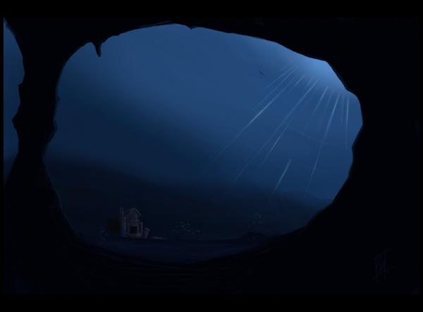 A Shrine Lay in the Deep by Perigryn
