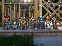 'Chrono Trigger Cast Wooden Sprites' by Blazenhozen