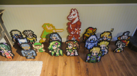 Assorted Wooden Sprites by Blazenhozen
