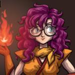 'Lucca Shaman Form: Sorceress' by DeathbyChiasmus