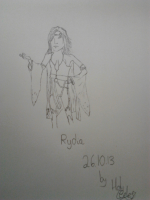 'Rydia' by HolyCeles