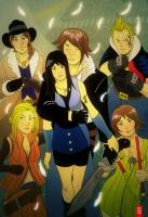 Final Fantasy VIII by cheshirecatart