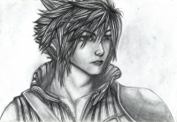 Cloud Strife by Hcxiii