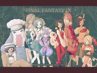 Girls of FFIX by NetherworldQueen