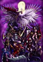 Final Fantasy: Villains by Ryuuza