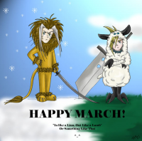 Happy March! by Fox