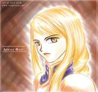 Agrias (Untitled) by Julie Zhou
