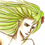 Rydia (Untitled) by Kaine