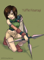 Yuffie (Untitled) by bratkitty