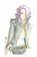 'Faris in Gray' by Kame