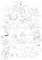 final fantasy vi characters by jpoo1212