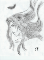 'Charcoal Sephiroth' by Sephiroth