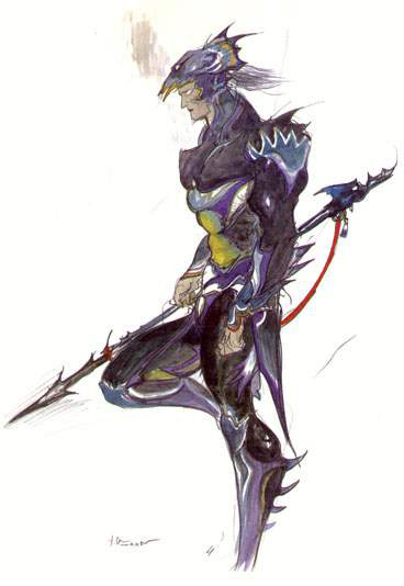 Final Fantasy Iv Official Art Caves Of Narshe