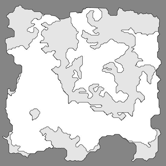 Final Fantasy IV World Map - Caves of Narshe