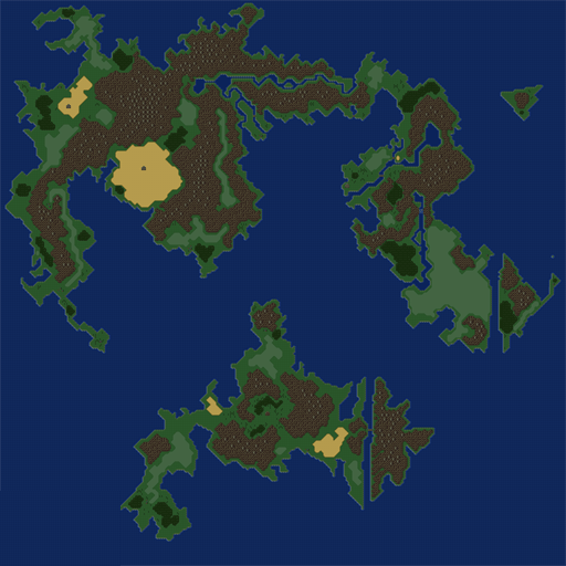 Static Final Fantasy VI Wob World Map